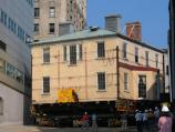 Alexander Hamilton's home has moved twice since construction began in 1800: 1883 and again in 2008.