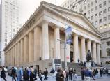 Federal Hall National Memorial as seen from the New York Stock Exchange