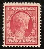 Lincoln Stamp made from the pose of the