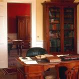 The Collector of the Port of Salem had a suite of offices on the second floor of the Custom House. The Collector's offices were furnished with rich colors and fine furniture. The furniture in these offices was purchased by the Customs Service in 1873.