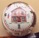 The West India Goods Store is one of the scenes depicted on Salem Maritime's 2007 White House Ornament.