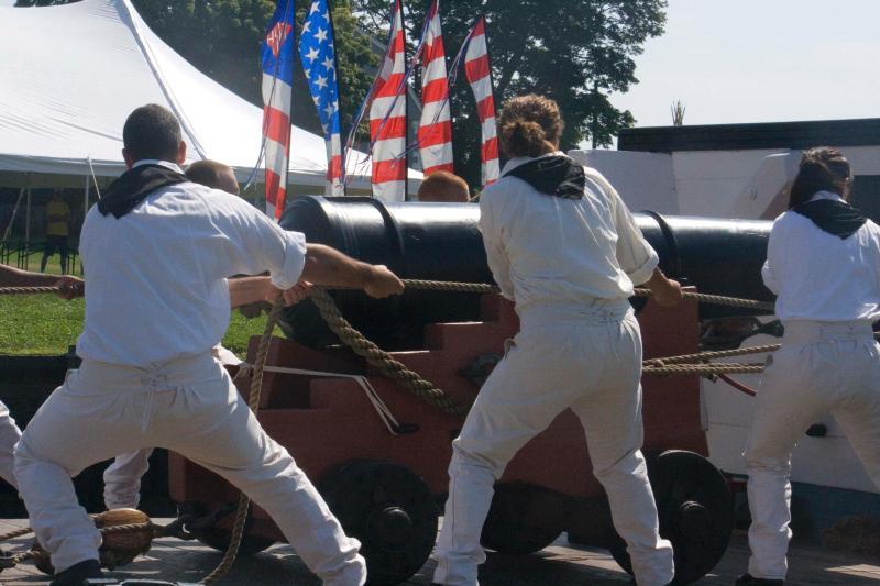 USS Constitution Master Gun Crew