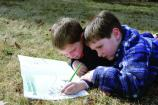 Shenandoah's popular Junior Ranger Program is a fun and eductional way for kids to explore the park.