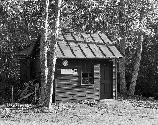 VA-119-77	SIMMONS GAP RANGER STATION AREA. VIEW OF OLD ENTRY STATION.  More about HAER Photo Documentation...