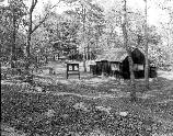 VA-119-5	DICKEY RIDGE VISITOR CENTER. CLOSE SHOT OF PICNIC AREA COMFORT STATION.  More about HAER Photo Documentation...