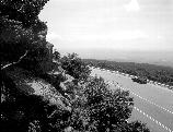 VA-119-8	HOGBACK OVERLOOK. PANORAMIC VIEW FROM ROCK LEDGE, WEST TO NORTHWEST, MILE 21.  More about HAER Photo Documentation...