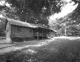VA-119-10	PINEY RIVER RANGER STATION. VIEW OF OLD CCC CAMP ADMINISTRATION BUILDING. LOOKING WEST, MILE 22.1.  More about HAER Photo Documentation...