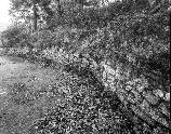 VA-119-30	JEWELL HOLLOW OVERLOOK. VIEW OF STONE GUARD WALL FROM SOUTHERN END.  More about HAER Photo Documentation...
