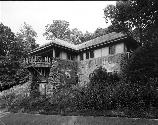 VA-119-49	SKYLAND. PERSPECTIVE VIEW OF MASSANUTTEN LODGE. LOOKING EAST, MILE 41.7.  More about HAER Photo Documentation...