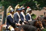 2nd Continental Dragoons at Armory Day, 2008
