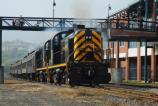 Historic Alco RS3's power the Steamtown NHS