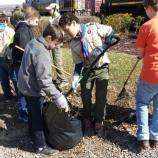 Boy Scouts assist in park's 2014 Spring Clean-up