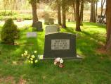 20 Zane and Dolly's Headstone. It was their wish to rest in Lackawaxen together where they started their lives and where Zane's writing career began