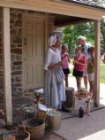 Hannah Till a slave in General Washington's Headquarters talks about her jobs and duties.