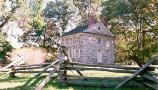 The Isaac Potts home was rented by General Washington and used as his headquarters during the 1777-1778 winter encampment at Valley Forge.