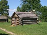 Reconstructed soldier cabin.