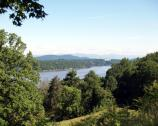 View of the Hudson River from the Vanderbilt Mansion