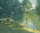 Weir Pond as seen by Julian Alden Weir