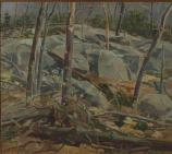 C. Sperry Andrews. Weir Preserve, Oil on Canvas, 1974.