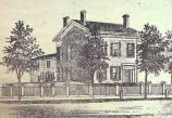 Drawing of the M'Clintock House