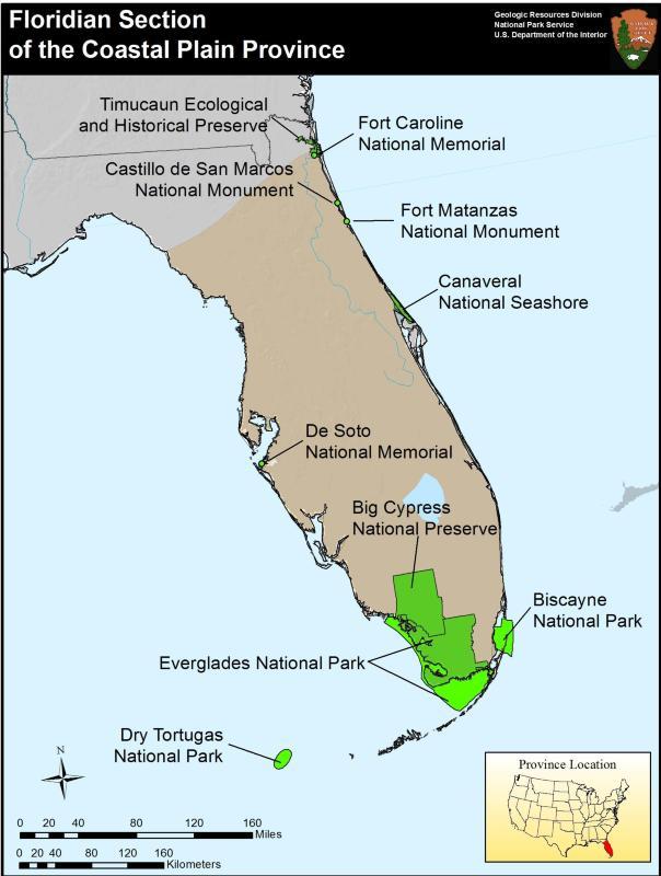 Coastal Plain Province US National Park Service