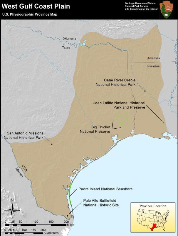 Coastal Plain Province (U.S. National Park Service)