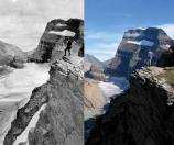 Glaciers Grinnell Glacier 1920 and 2010