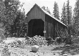 Covered Bridge at Wawona