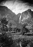 Yosemite Falls and Merced River