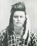 Younger brother of Chief Joseph, Ollikot was a great warrior, killed at Bear Paw.