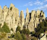 Pinnacles - Stop #12 on the Geological Interpretive Trail.