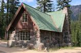 The residence for the Crater Lake Science & Learning Center is housed in the former Chief Naturalist's House.