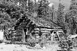This cabin, also known as the Hermit's Cabin, was occupied by many early visitors to Devils Postpile as early as 1909.
