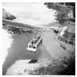 Sutro Baths tram midrange shot, 1951.