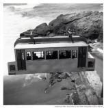 Sutro Baths tram close-up shot, 1951
