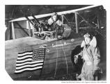 WWI Airmen and Plane