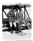 Soldiers with the Douglas World Cruiser Plane