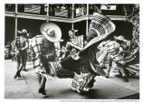 Mexican dancers at Fort Point fiesta, 1980.