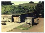 Battery Alexander exterior, Fort Barry, 1976.