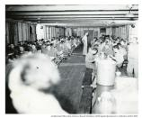 Crissy Field mess hall, 234th Signal Company, c. 1940s.
