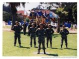 Soldiers in deactivation ceremony, the Presidio, 1994.