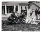 Children with machine gun, Presidio, 1929