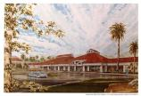 Rendering of the new Commissary proposed for construction on the Presidio of San Francisco, 1984.
