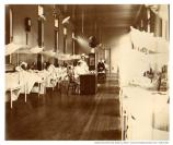 """View in the surgical ward ""C"" Letterman Hospital, Presidio 1901."