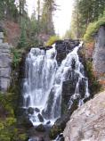 Kings Creek Falls in early October
