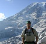Volunteer patrol ranger Tim Osburn, in his