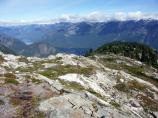 The Pierce Mountain Trail offers beautiful views of the North Cascades.
