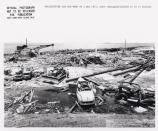 Pier 1 after explosion
