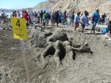 2012 Sand Sculpture Contest: Adult/Family Group Entry #04: Sand Kraken, by the Robert Weines family