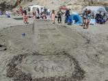 2012 Sand Sculpture Contest: Adult/Family Group Entry #15: It's Bigger On The Inside, by Yoakum/Mayberry